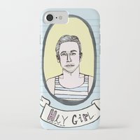 ryan gosling iPhone & iPod Cases featuring Ryan Gosling by EmilyScribbles