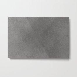 Pantone Pewter, Liquid Hues, Abstract Fluid Art Design Metal Print