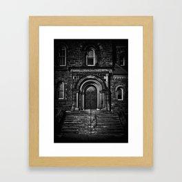 University College East Entrance Toronto Canada Framed Art Print