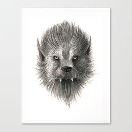 Werewolf beast Canvas Print