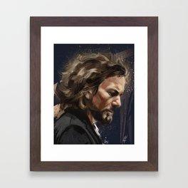 Mr Vedder Framed Art Print