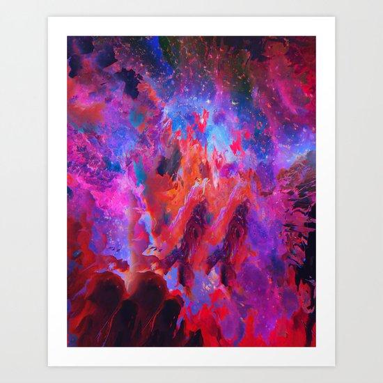 Owzer Art Print