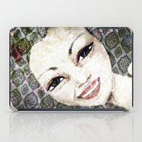 flora iPad Cases featuring Flora by Dominique Gwerder
