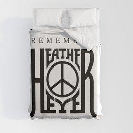Heather Heyer Duvet Cover