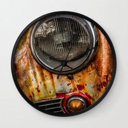 Rusty old Porsche Wall Clock