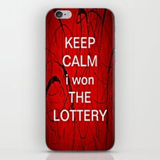 Keep Calm I Won The Lottery - phone cases for 6 - phone cases for 6s plus iPhone & iPod Skin