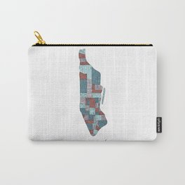 New York City Neighborhoods Map Carry-All Pouch