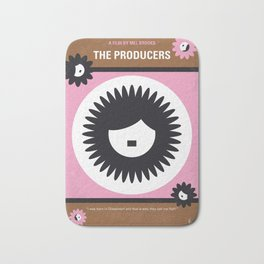 No467 My The Producers minimal movie poster Bath Mat