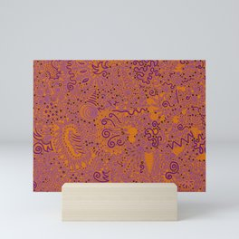 Purple Pizzazz, Part 3 Mini Art Print