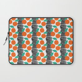 Citrus and Stripes Laptop Sleeve