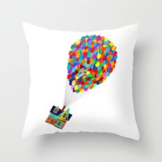 Disney's UP House  Throw Pillow