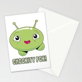 Chookity pok! Stationery Cards