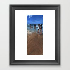 Fistral Beach Framed Art Print