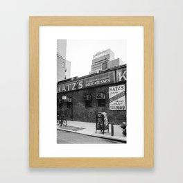 Katz V Framed Art Print