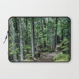 Nature Landscape Forest Trail Laptop Sleeve