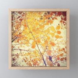 Happy Framed Mini Art Print