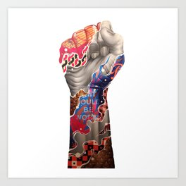 ARMS--ART Art Print