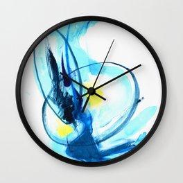 Into the Wormhole Wall Clock