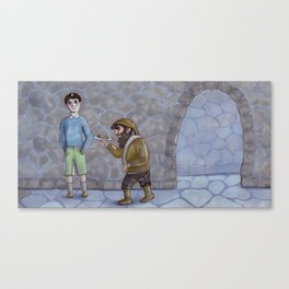 Stale bread Canvas Print