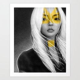 Meili Art Print