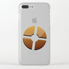 Team Fortresş 2 Logo Clear iPhone Case