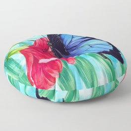 Ulysses Butterfly Floor Pillow