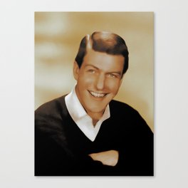 Dick Van Dyke, Hollywood Legend Canvas Print