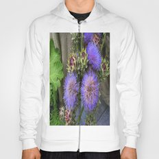 Purple Blooms Hoody