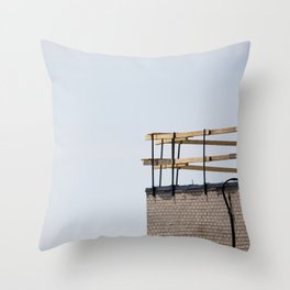 Scaffolding. Throw Pillow