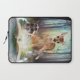 Believe In Magic • (Bambi Forest Friends Come to Life) Laptop Sleeve