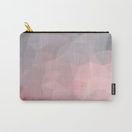 Soft geometric design Carry-All Pouch