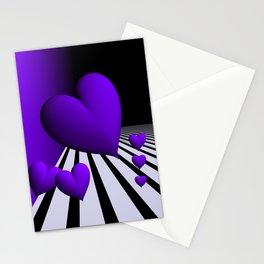 go violet -13- Stationery Cards