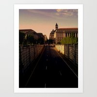 washington dc Art Prints featuring Washington DC by adamsk8