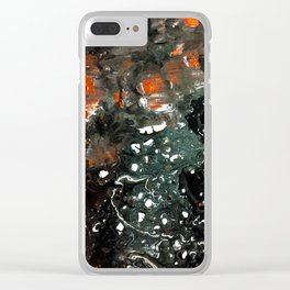 Deepest Cave Clear iPhone Case