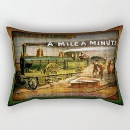 TrainCurios 01 Rectangular Pillow