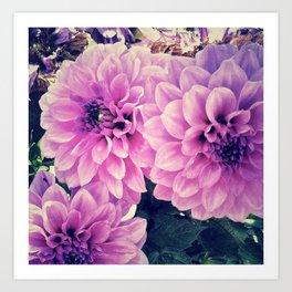 - Purple -  Art Print