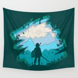 Breath of Warrior Wall Tapestry