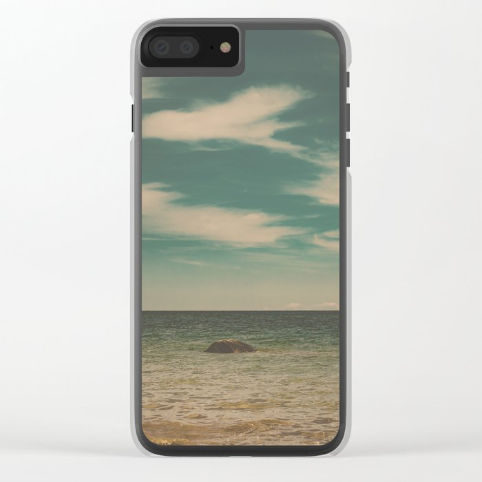 Set Me Free Clear iPhone Case