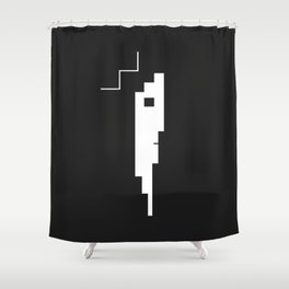 OSKAR SCHLEMMER Shower Curtain