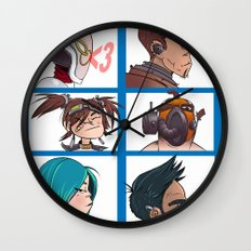 Bandit Days Wall Clock