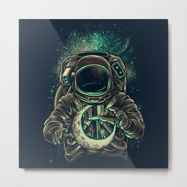 Moon Keeper Metal Print