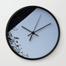 Sky and Moon Wall Clock