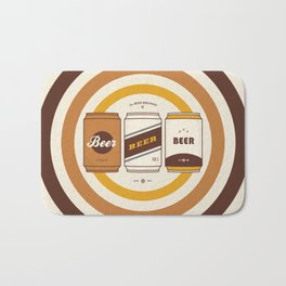 The Beer Brewing Company Bath Mat
