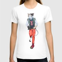 misfits T-shirts featuring Misfits punk cat  by Kami-katamari