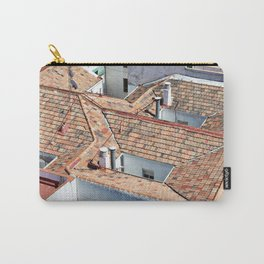 Old houses with tiled roofs Carry-All Pouch