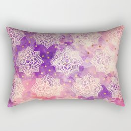Hindu diwali pattern Rectangular Pillow