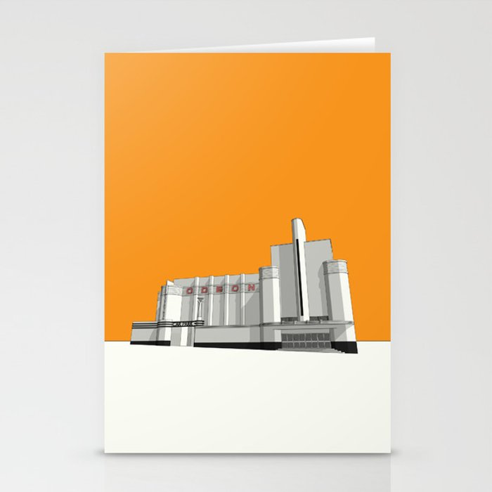 ODEON Woolwich Stationery Cards