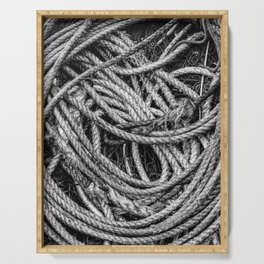 Coiled Rope Serving Tray