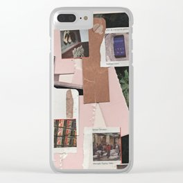 Layers of time Clear iPhone Case