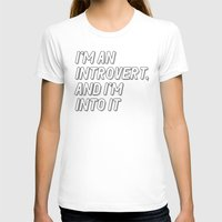 introvert T-shirts featuring Introvert by BMaw